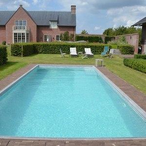 Landelijke tuin met zwembad vereecke lieven - Outs zwembad in de tuin ...